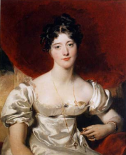 Lady Frances Anne Vane-Tempest, by Sir Thomas Lawrence, 1818